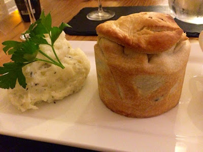 steak and kidney pie at The Mountsorrel
