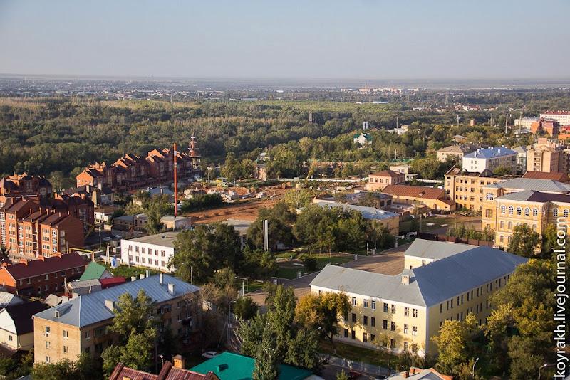 руферы, Башни Форштадта, вид на Красную площадь...