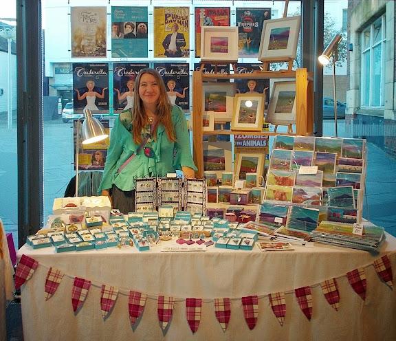 The Handmade show, Scottish artist Aileen Clarke