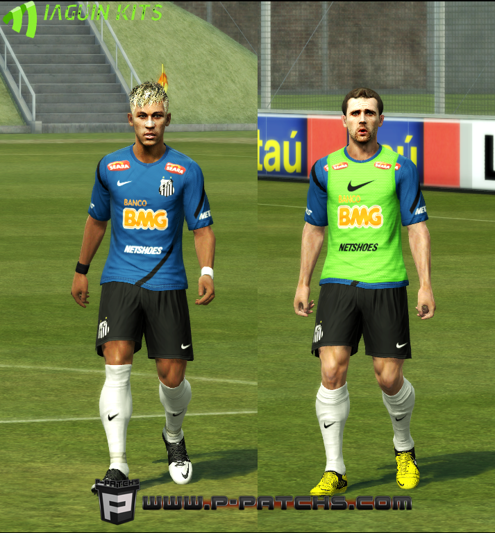 Uniforme de Treinamento do Santos - PES 2013