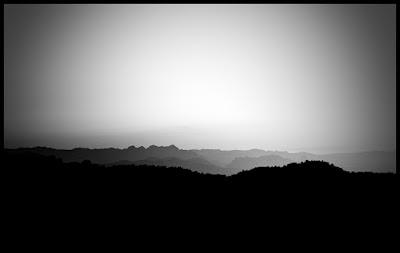 Krajobraz Katalonii. Hiszpania, Margalef, Raco de les Espadelles. Zima 2012. Fot. Łukasz Cyrus, Ruda Śląska