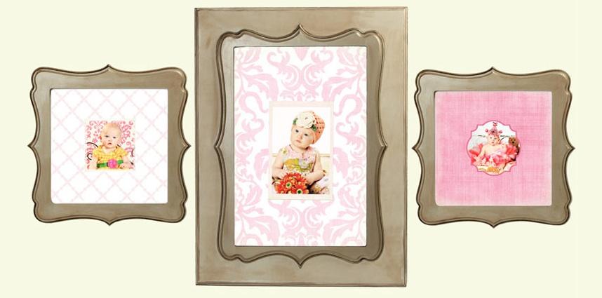 living livelier quatrefoil frames