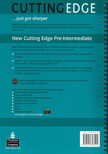 New Cutting Edge Pre-intermediate Students Book Pdf