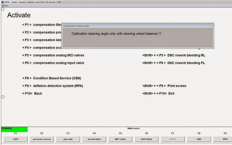 E93 - INPA - 5E46 Fault code Please help - Cant Initialise