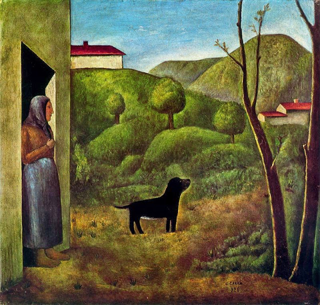 Carlo Carrà - L'attesa 1926
