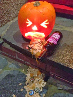 Drunken Pumpkin - Pumpkins & Halloween Food - Recipes, Ideas and Inspiration