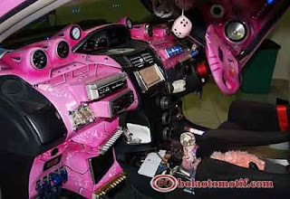 Interior Hello Kitty