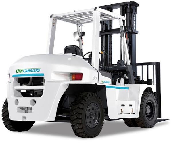 1F6F70U - diesel forklift 7 tons