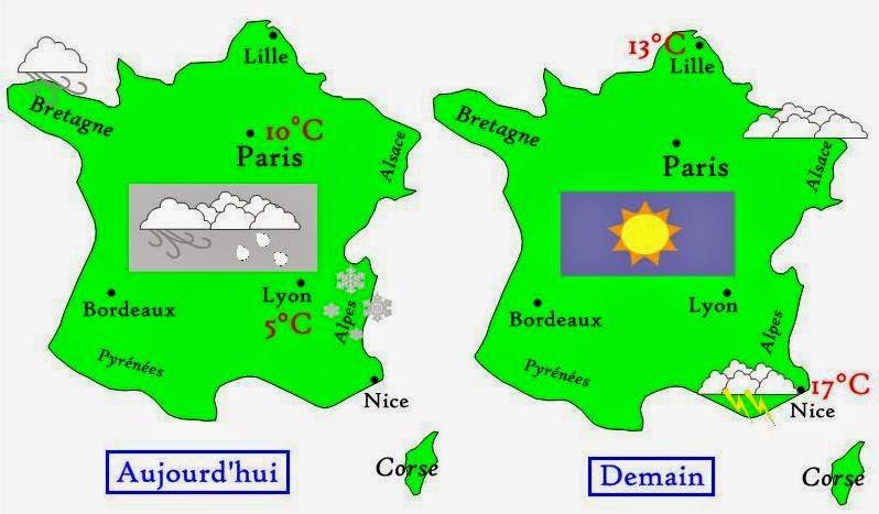 La météo en français - français précoce 93315ed67ca3