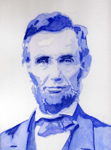 Christiane Kingsley's Art: I'm back,...Abraham Lincoln's ...