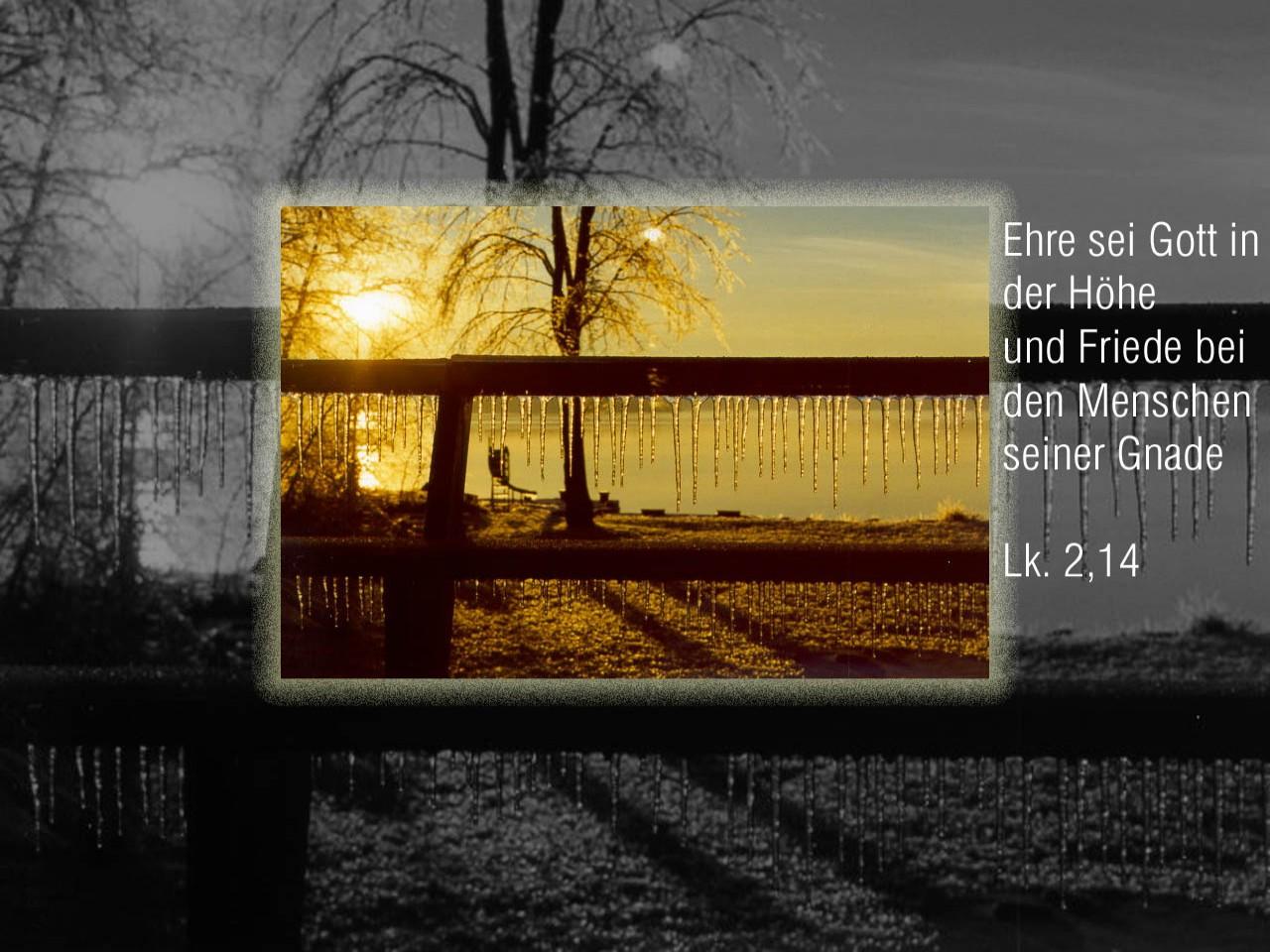 Ehre sei gott in der h he christliche hintergrundbilder - Christliche hintergrundbilder ...