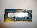 Memoria para Noteboock de 1GB 1Rx8 PC3-