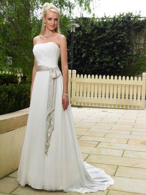 vestidos de novia sencillos. Vestidos de novia baratos y