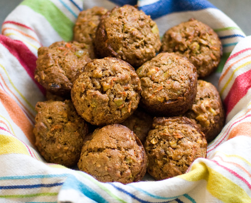 Sweet Savory Planet: Morning Glory Muffins
