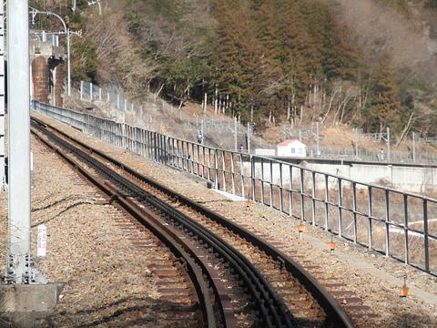 大井川鉄道 井川線 車窓 その3 アプト区間