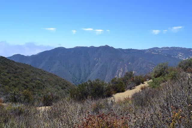 road along the next ridge