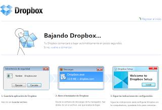 Dropbox-Bajando-Dropbox