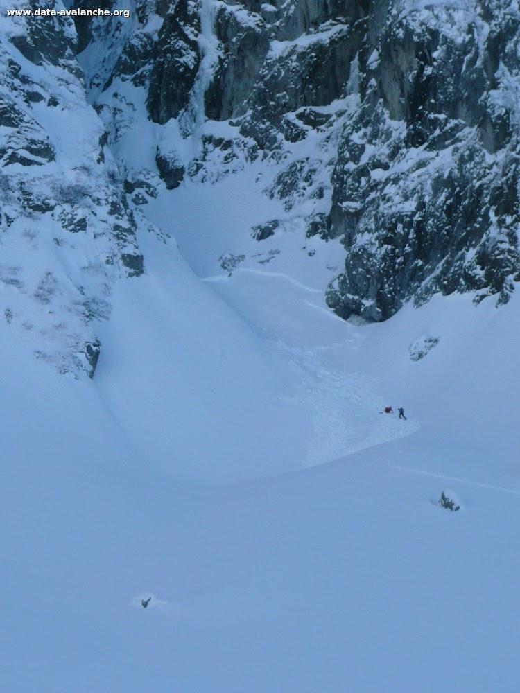 Avalanche Belledonne, secteur Puy Gris, cirque de l'Oule - Photo 1 - © Lebreton Grégory