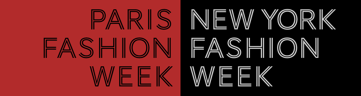 Image of Paris VS New York Fashion Week Infographic