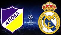 Horarios R Madrid Apoel Cuartos champions League