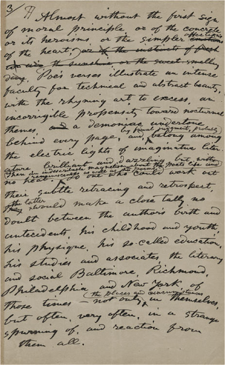 Edgar Poe's Significance
