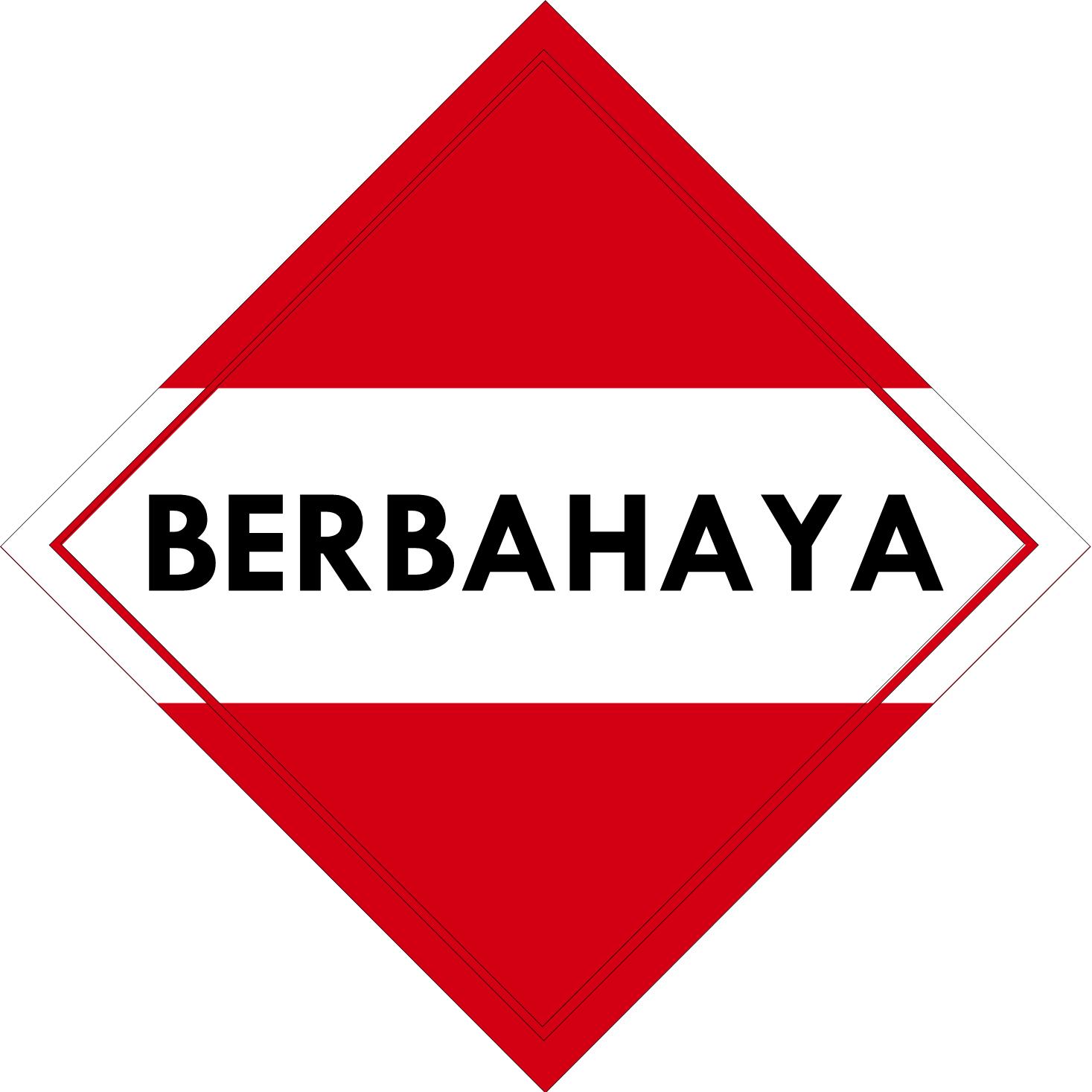 Label (Simbol) Transportasi Bahan (Material) Berbahaya Lebih dari 2 (dua) kelas (kategori)
