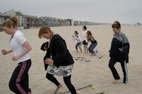 July 2008: Beach Bootcamp