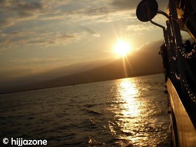 Sunset at Kayangan
