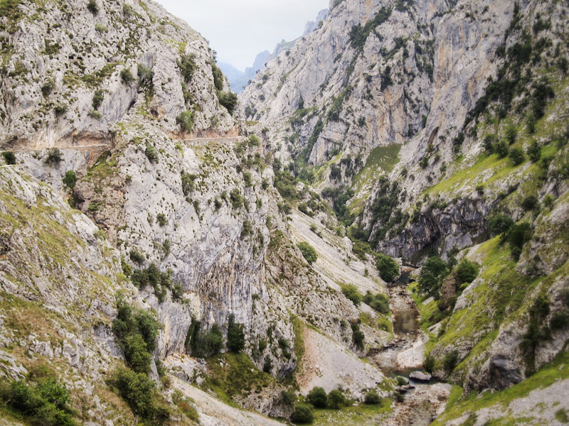 One of the most popular trails in Los Picos de Europa