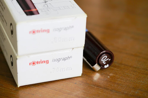 Rotring Isograph technical pen