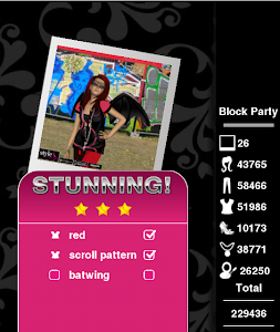 Three Stars Stunning on Block Level 51 Style Me Girl