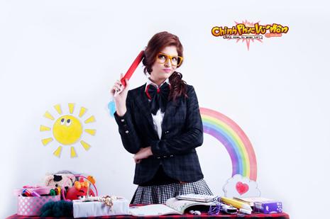 """Andrea Aybar xinh tươi với cosplay """"phù thủy học đường"""" 8"""