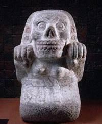 Goddess Mictecacihuatl Image