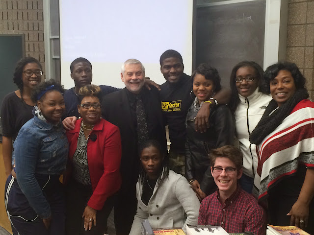 Noted author Edwin Black schools students on the roots of racism