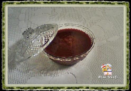 Geleia e calda de frutas vermelhas 4