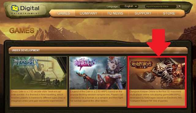 Dungeon Keeper Online confirmado en USA Dkous