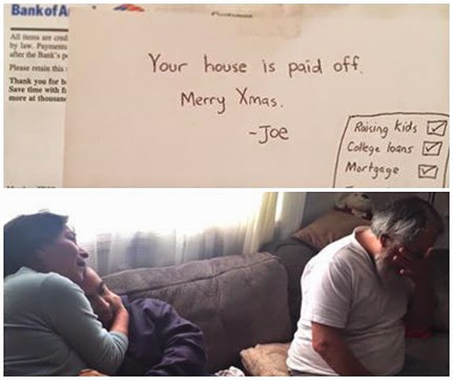 Jovem paga hipoteca da casa dos pais como prenda de Natal