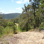 Steep section of trail between Heaton Gap Lookout and Heaton Gap (359000)