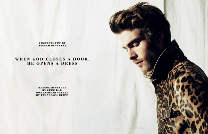 "before you kill us all: EDITORIAL GQ UK ""When God Closes a Door ..."