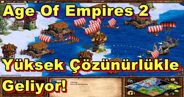 Age Of Empires 2 HD Olarak Geliyor!