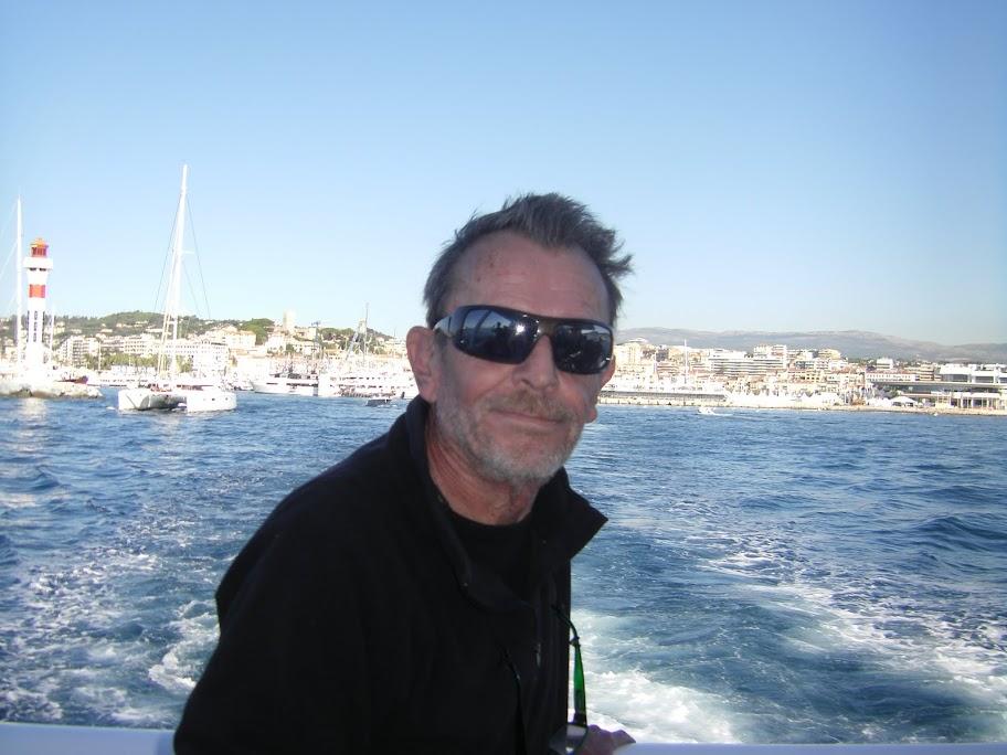 Francois Lapeyre au bateau
