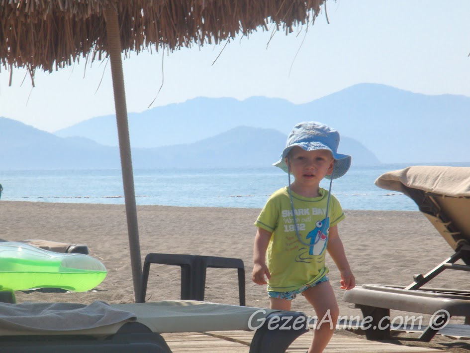Hilton Dalaman Sarıgerme'nin sahilinde