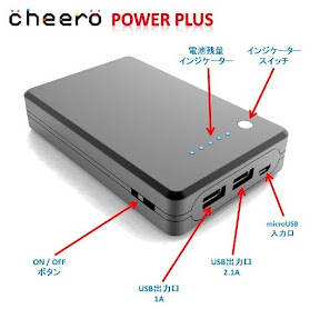 cheero Power Plus