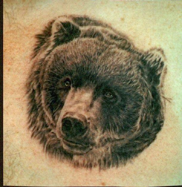 tatuaże niedzwiedzie