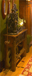 Elevator Brake Train Tressle Lamp