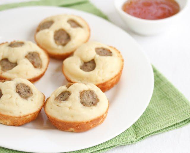 Sausage Pancake Cups - Kirbie's Cravings