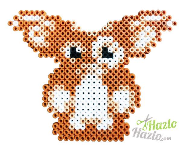 Como hacer un gremlin con hama beads