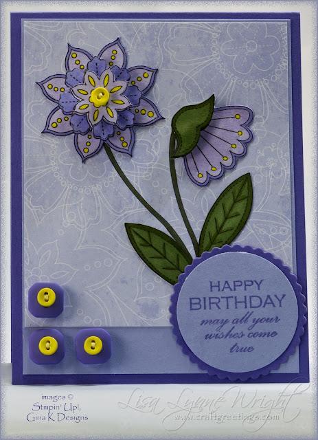Funky Purple Doodles