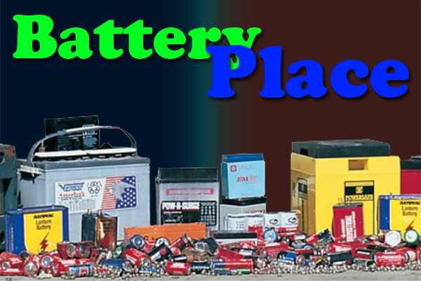 Battery Store Warner Robins Battery Place Logo