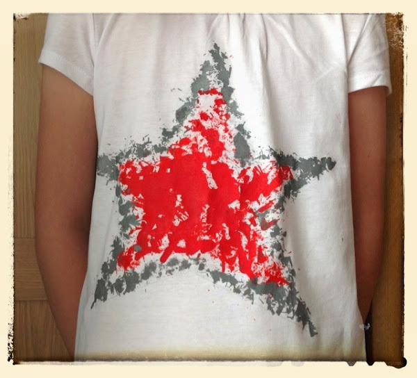 Pintar camiseta aprender manualidades es - Pintar camisetas ninos ...